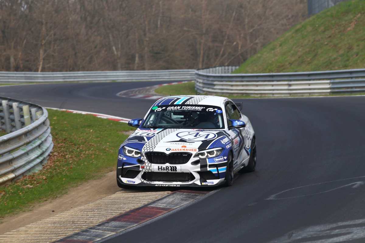 BMW M2 CS vom Team Adrenalin Motorsport (Merlini/ Naumann/ Leisen/Fübrich